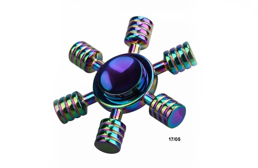 Fidget Spinner - Metalic Rainbow 17/05