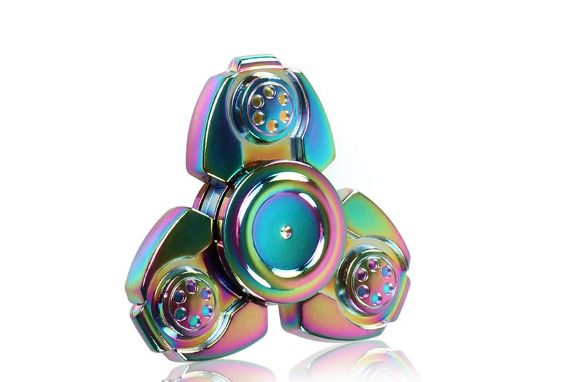 Fidget Spinner - Metalic Rainbow 17/10