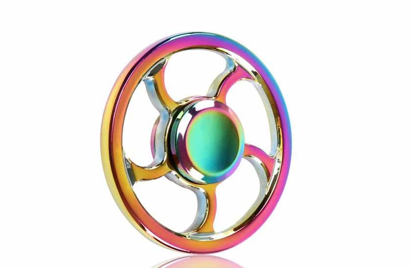 Fidget Spinner - Metalic Rainbow 17/11
