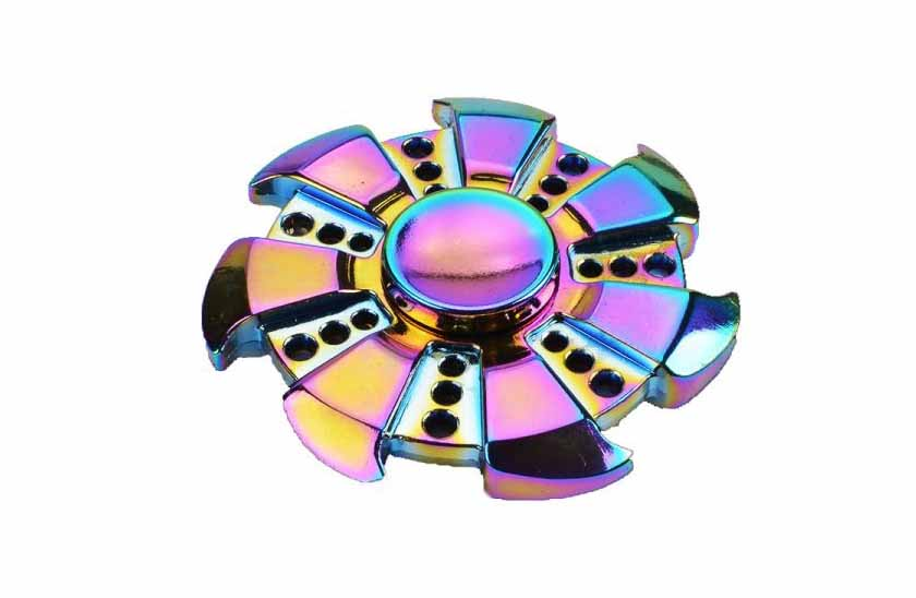 Fidget Spinner - Metalic Rainbow 17/13