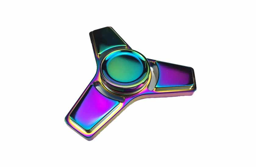 Fidget Spinner - Metalic Rainbow 17/14