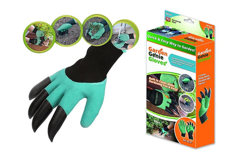 Zahradnické rukavice s drápy - pro snadné hrabání