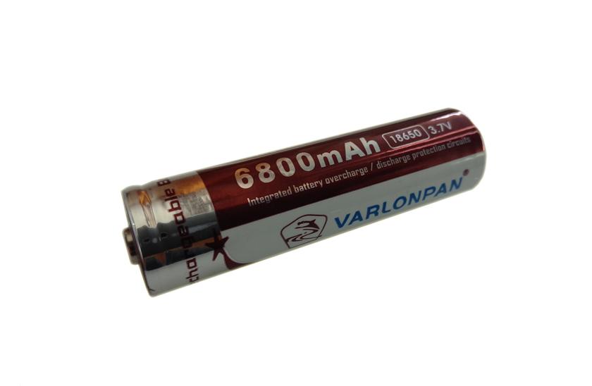 Baterie pro čelovky - Varlonpan - 18650 - 3.7V