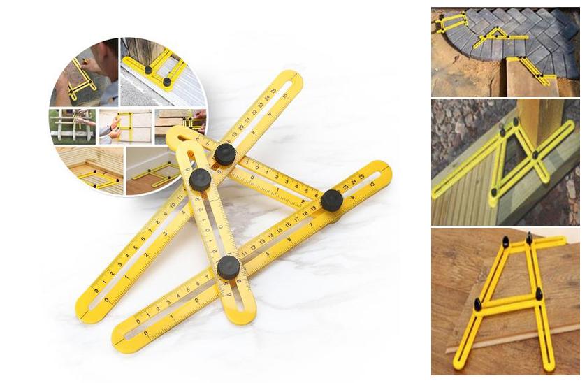 Multifunkční nástroj pro měření úhlu