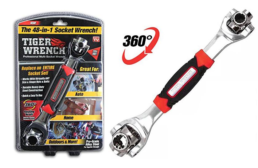 Tiger Wrench - Univerzální klíč - 48-v-1