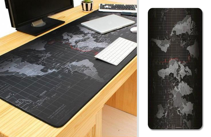 Podložka na stůl – mapa světa XXL