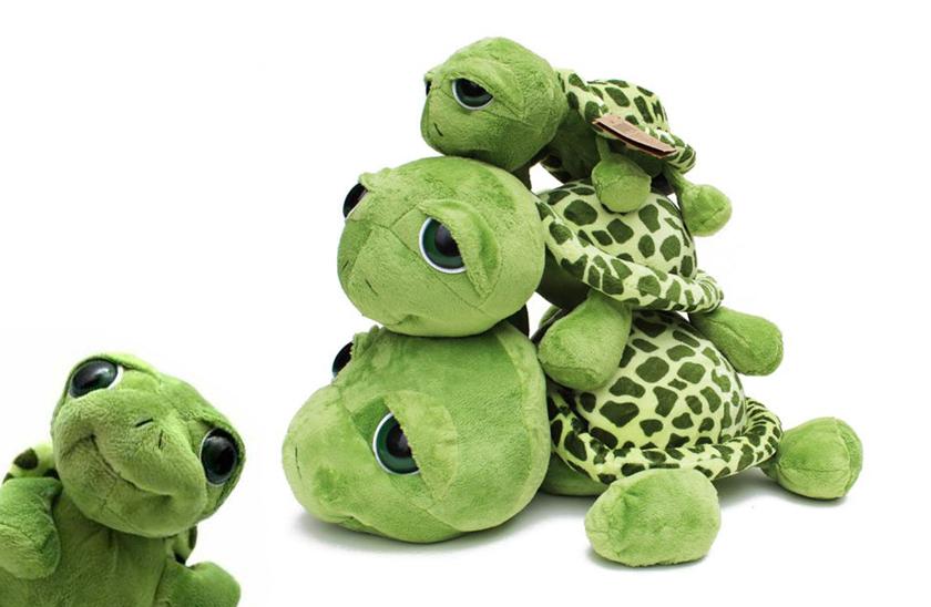 Plyšová želvička