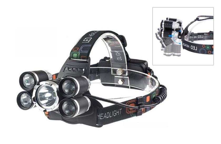 LED Zoomovací čelovka BR - 5000