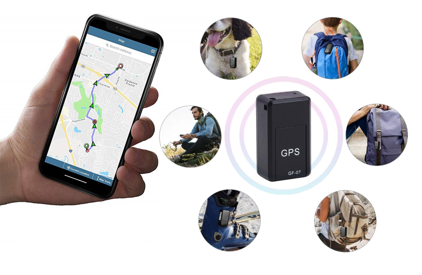 GPS mini magnetický lokátor s funkcí odposlechu