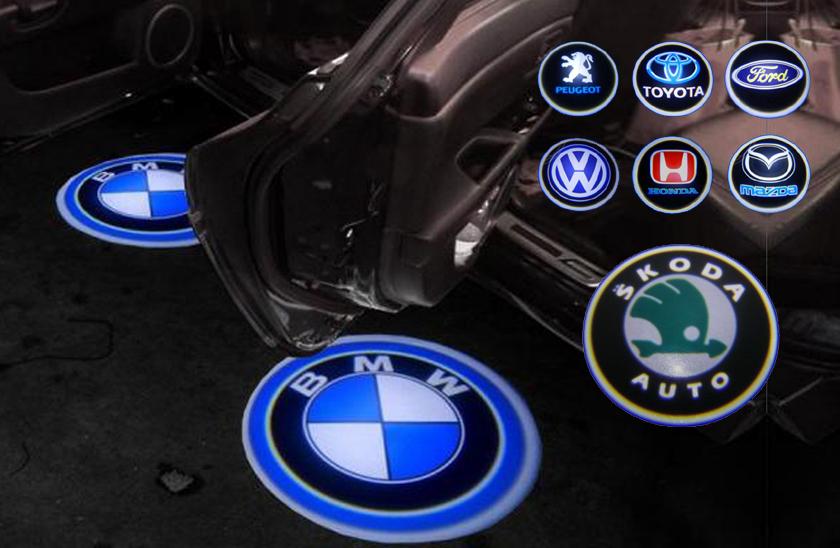 LED logo projektor značky automobilu