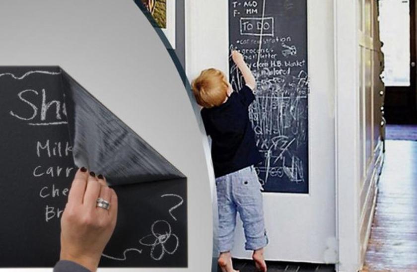 Samolepicí černá tabule - 45x200 cm