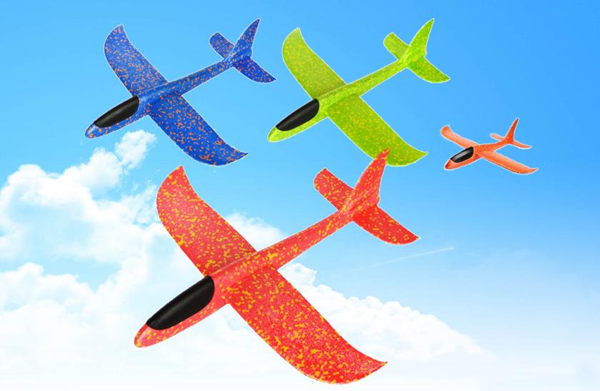 Pěnové házecí letadlo sextra dlouhým doletem