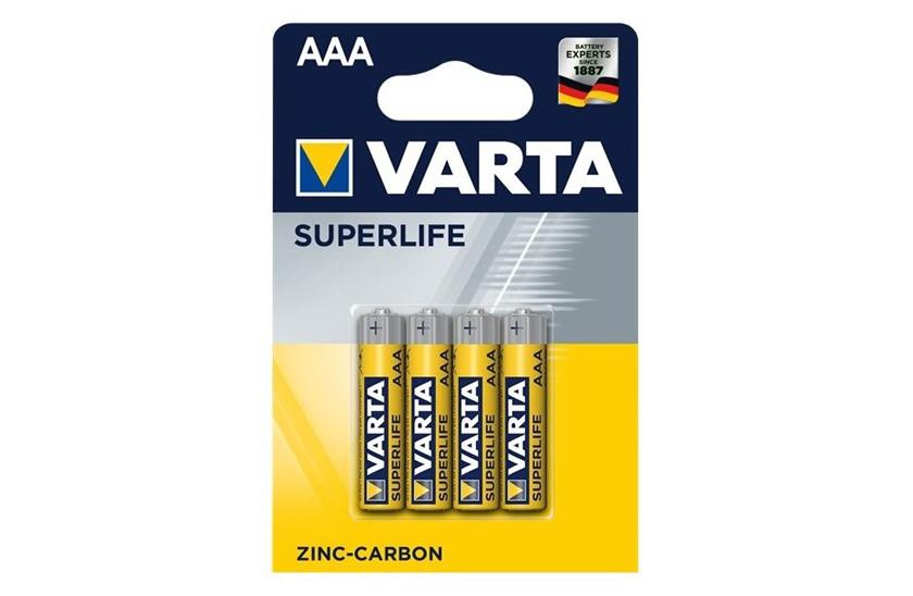 Baterie Varta AAA – Superlife - blistr 4ks