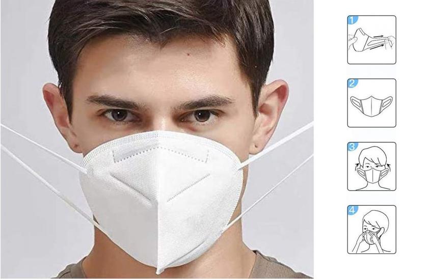 Respirátor FFP2 - KN95 - Respirační rouška