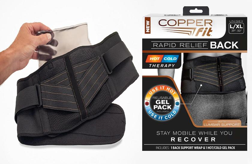 Copper fit - Bederní pás s gelovou vložkou