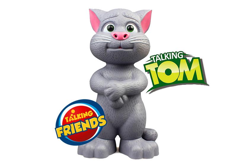 Mluvící kocour Talking Tom - Interaktivní hračka.