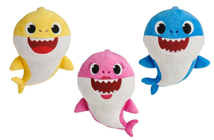 Zpívající plyšový žralok Baby Shark