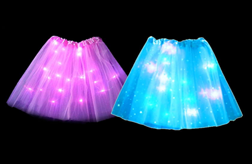 LED svítící sukně PRINCESS