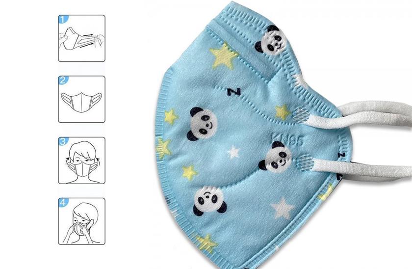 Respirátor FFP2 - KN95 - Respirační rouška - Pro děti