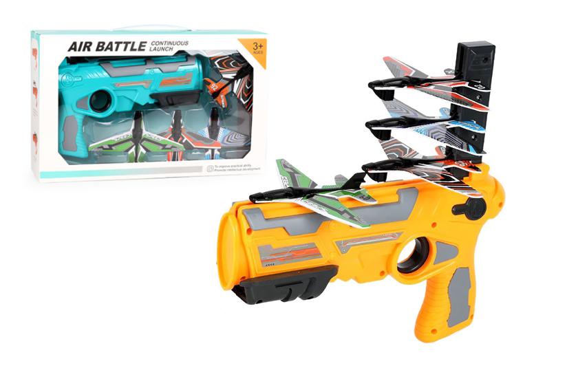 Pistole vystřelujicí letadla – Air Battle