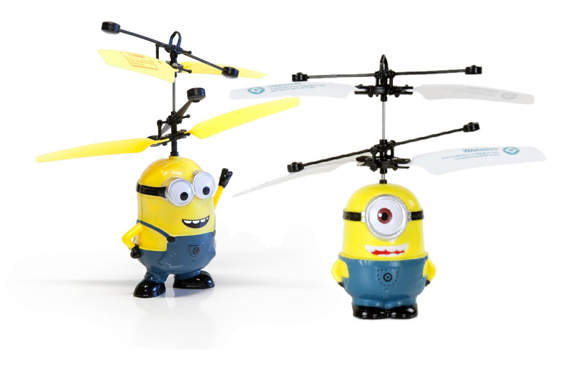 Létající Mimoni - Mimoní vrtulník zabaví malé i velké. - obrázek