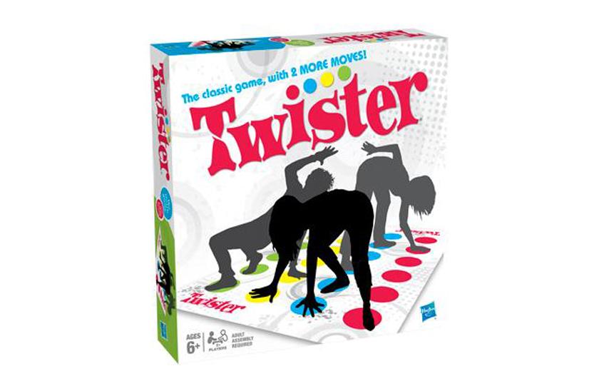 TWISTER - Zábavná společenská hra.