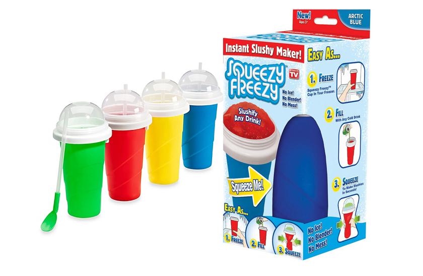 Squeezy Freezy - Výrobník ledové tříště, snadno a zábavně