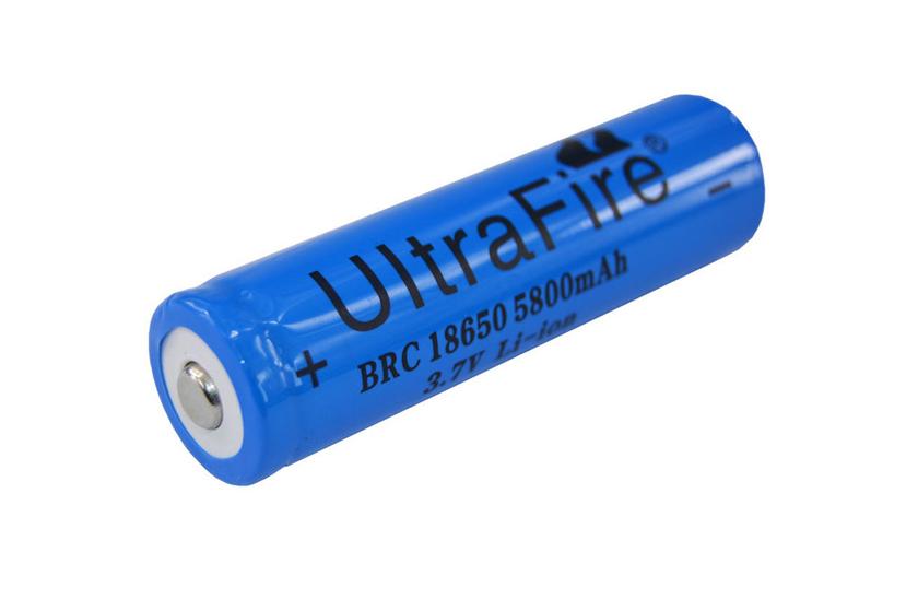 Baterie pro čelovky - Ultra Fire - 18650 - 3.7V