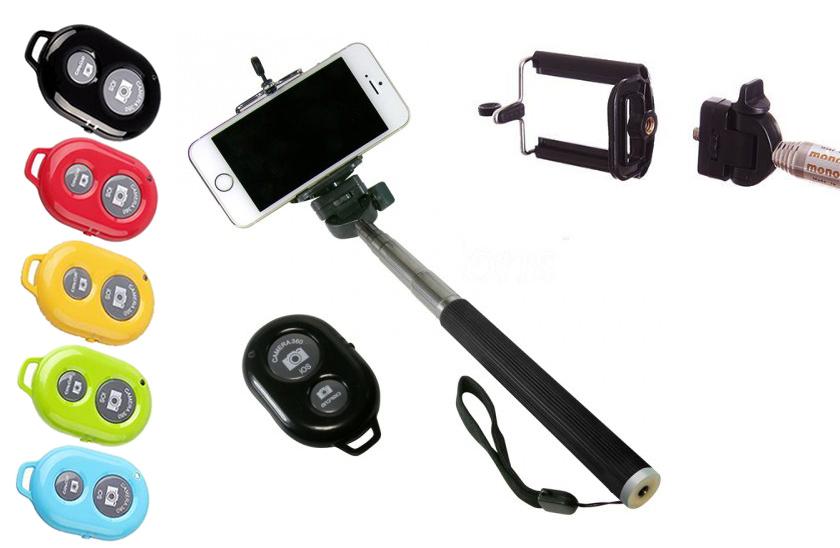 Monopod - Selfie fotografický set