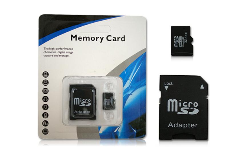 Micro SD paměťová karta 32GB + Adaptér