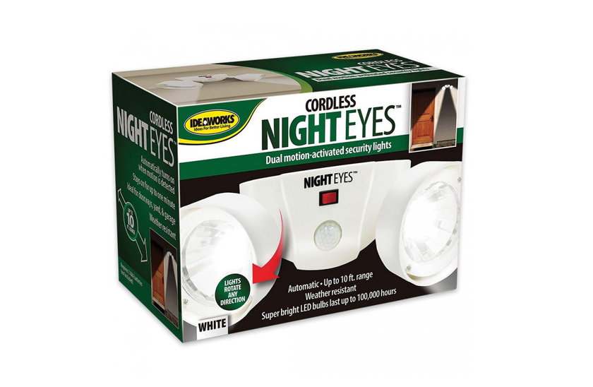 LED duální světlo s čidlem - Cordless night eyes