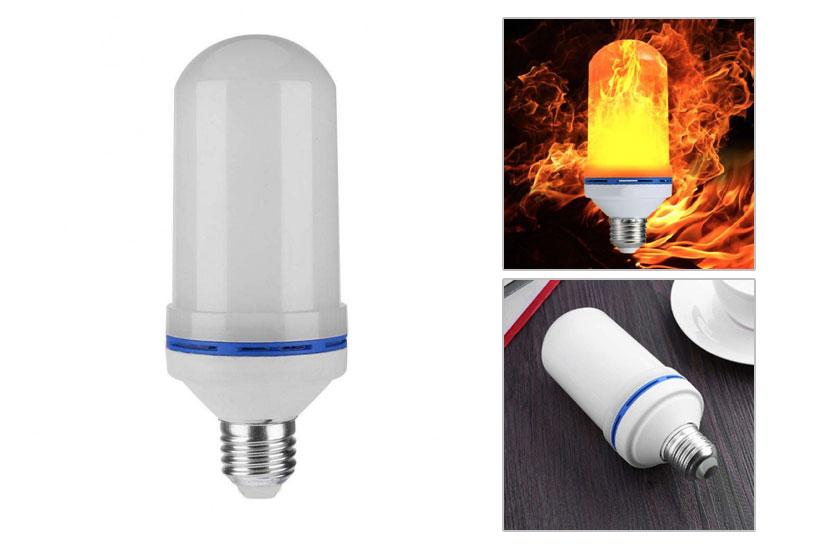 Levně LED žárovka s efektem plamenu