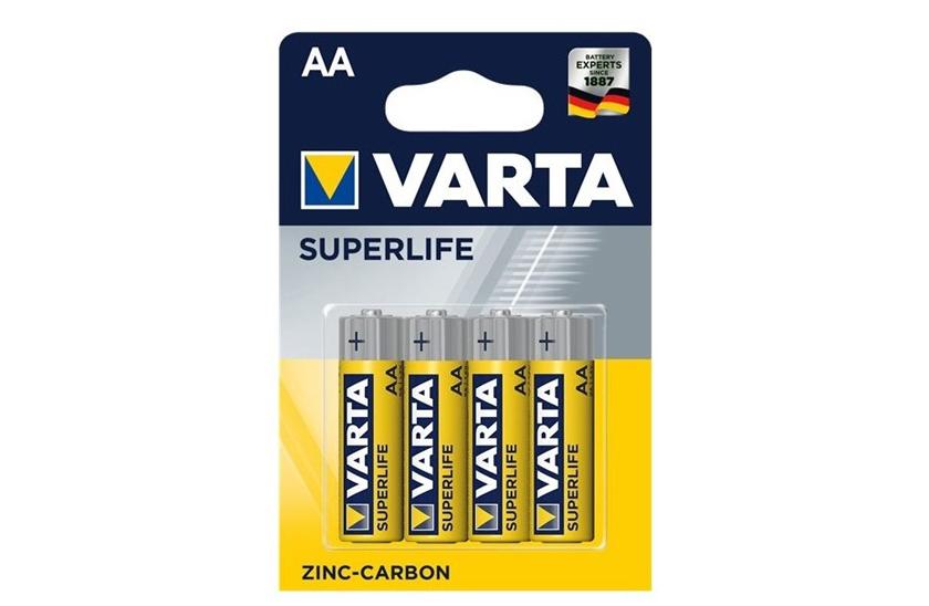 Levně Baterie Varta AA – Superlife - blistr 4ks