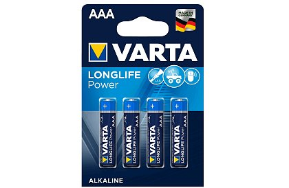 Baterie Varta AAA – Longlige Power - blistr 4ks