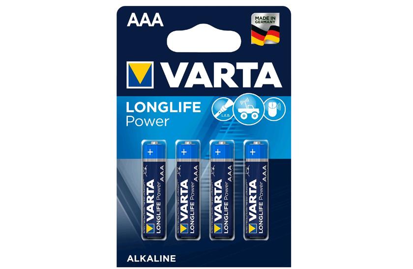 Levně Baterie Varta AAA – Longlige Power - blistr 4ks