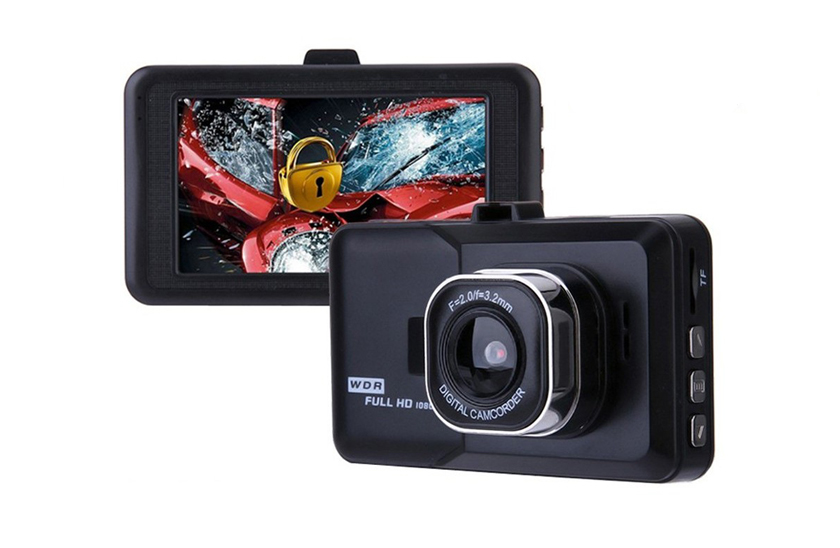 Autokamera do auta 1080p – automatické zapnutí, 3,0 LCD displey