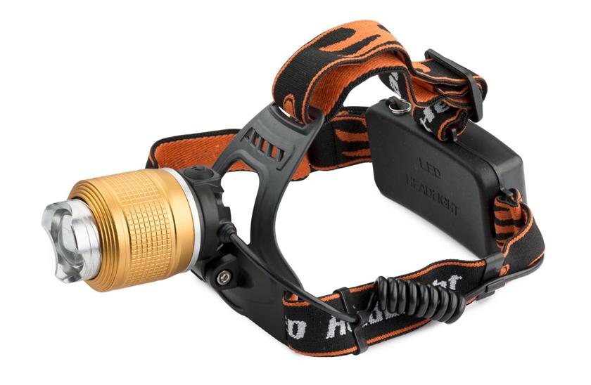 Levně LED nárazuvzdorná čelovka TB 283 - Dosvit až 500 metrů, Zoom.